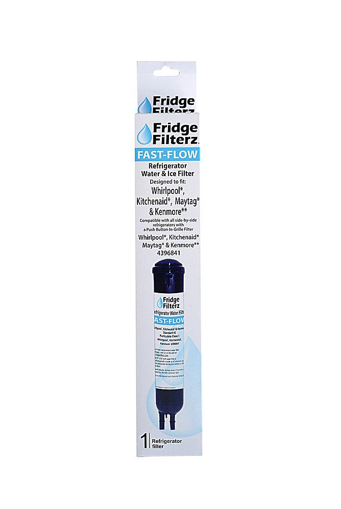 Fridge Filterz Fast Flow Whirlpool 4396841 Pur 2260515