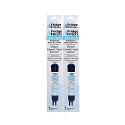 Fridge Filterz Fast Flow Whirlpool 4396841, PUR 2260515, KitchenAid & Maytag Replacement Water/Ice Filter (2-Pack)