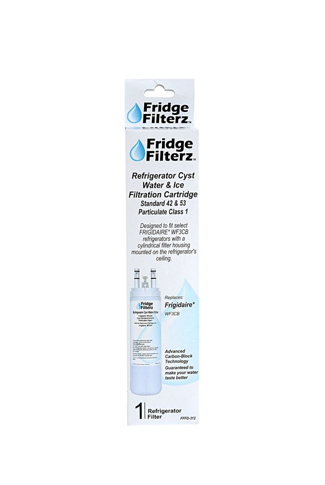 Fridge Filterz Frigidaire WF3CB Replacement Refrigerator Water & Ice Filter
