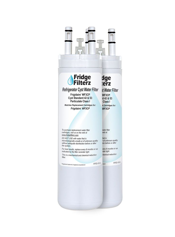 Fridge Filterz Frigidaire WF3CB Replacement Refrigerator Water & Ice Filter - (2-Pack)