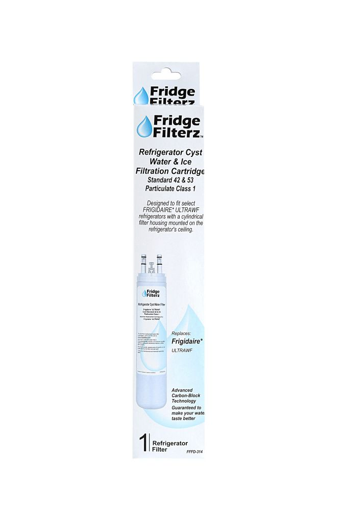 Fridge Filterz Frigidaire ULTRAWF Replacement Refrigerator Water & Ice Filer