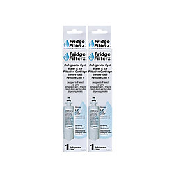 Fridge Filterz Replacement Water & Ice Filter for LG LT700, LT700P, ADQ36006101, ADQ36006102 (2-Pack)