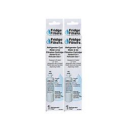 Fridge Filterz LG LT700, LT700P, ADQ36006101, ADQ36006102 Replacement Water & Ice Filter - (2-Pack)