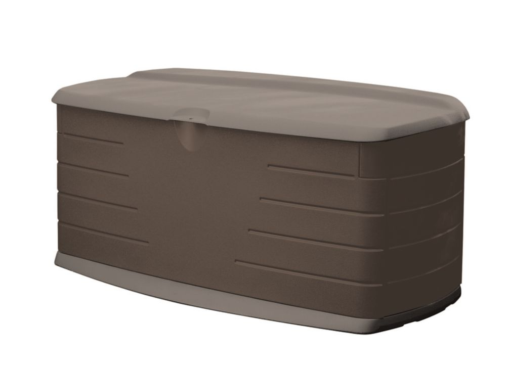Rubbermaid Large 12 cu. ft. Deck Box with Seat 2047054
