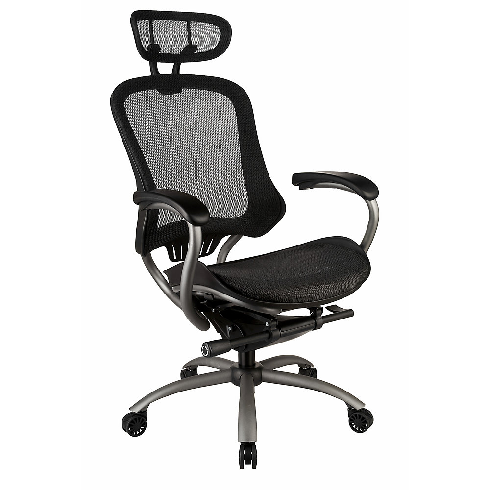 Swell Ergonomic High Back Mesh Office Chair With Headrest Home Interior And Landscaping Ologienasavecom