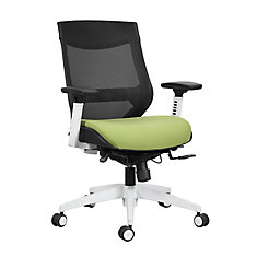 Mesh Mid Back and Fabric Seat Office Chair