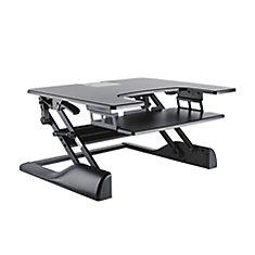 TygerClaw Sit-Stand Desktop Workstation Stand