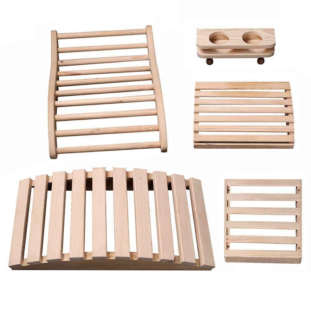 Radiant Saunas Deluxe Sauna Accessory Kit