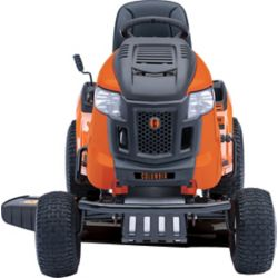 John Deere E120 42-inch 20 HP Gas Hydrostatic Riding Lawn Tractor