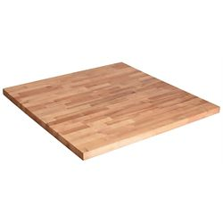 Hardwood Reflections 50-inch x 25-inch x 1.5-inch Wood Butcher Block Countertop in Unfinished Birch