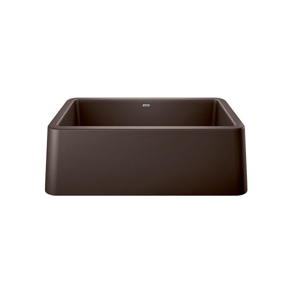 Blanco IKON® Apron Front Farmhouse Kitchen Sink - Café SILGRANIT Granite Composite