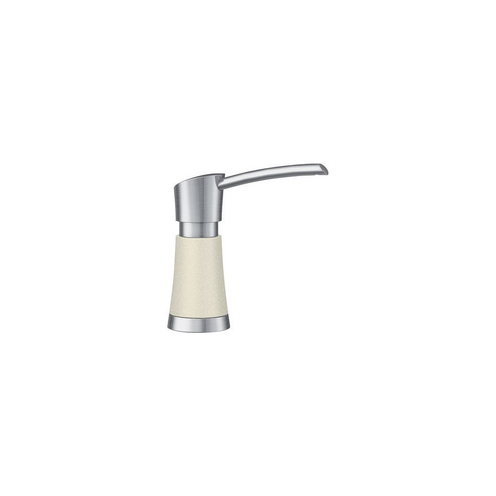 Blanco Artona Soap Dispenser - Stainless Steel and Biscuit Dual Finish