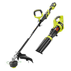 40V Lithium Ion Expand-It Cordless Trimmer and Blower Combo Kit