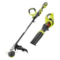 RYOBI 40V Lithium Ion Expand-It Cordless Trimmer and Blower Combo Kit