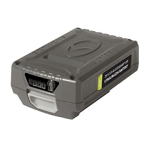 Batterie au lithium-ion 20V · 2,0Ah EcoSharp LITE