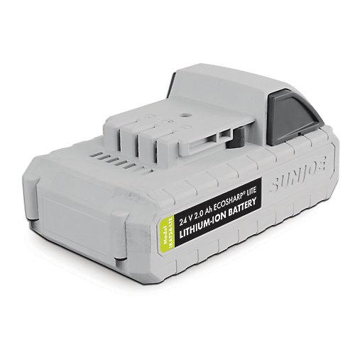 Batterie au lithium-ion 24V · 2,0Ah EcoSharp LITE