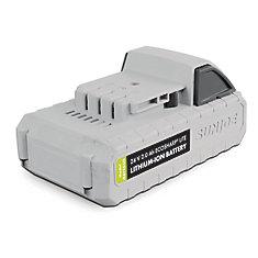 24 Volt  2.0 Ah EcoSharp LITE Lithium-Ion Battery