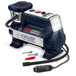 Campbell Hausfeld Powerhouse Digital Inflator, Auto Shut-Off, 12V 100 PSI & Safety Light