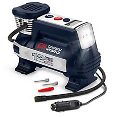 Powerhouse Digital Inflator, Auto Shut-Off, 12V 100 PSI & Safety Light