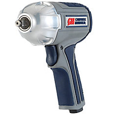 GSD Air Impact Wrench, Twin Hammer 3/8 inch w/ Composite Body & Comfort Grip
