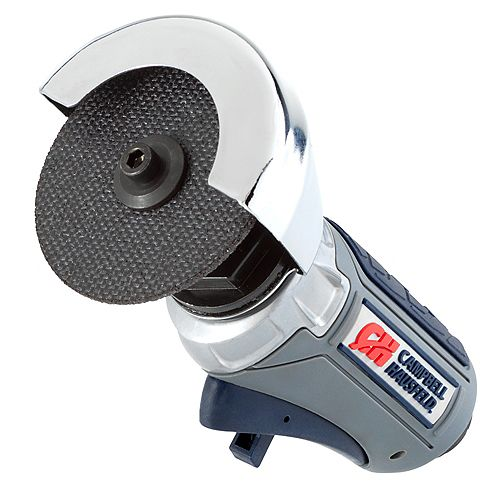 Campbell Hausfeld GSD Air Cut-Off Tool ½ Horsepower, 3 inch Cutting Disc, 360° Rotating Guard
