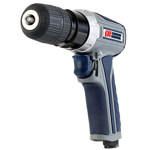 Campbell Hausfeld GSD Keyless Reversible Air Drill, Composite Body with Comfort Grip