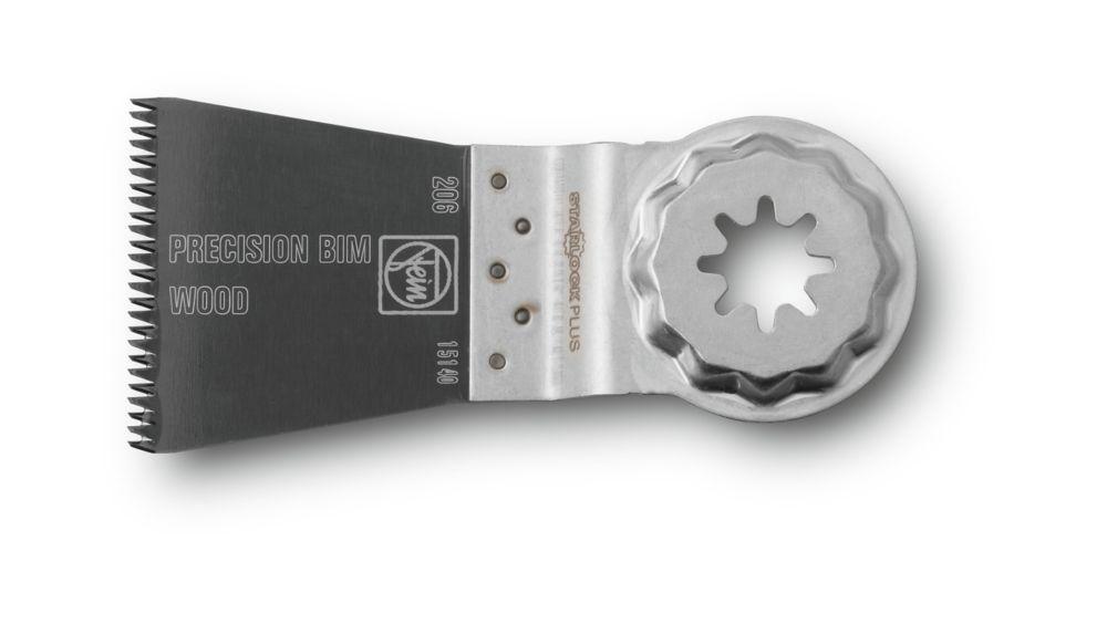 FEIN Starlock Plus E-Cut saw blade Precision BIM 1-3/4 inch x2 inch 1-PACK