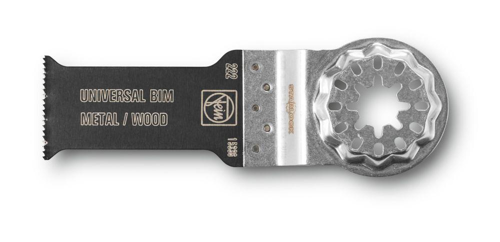 FEIN Starlock E-Cut  saw blade Universal BIM 1-1/8 inch x2 inch 10-Pack