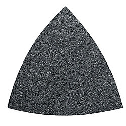 FEIN Feuilles abrasives triangulaires oxyde d'aluminium grain 100 PQ-50