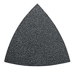 Triangular Velcro Sandpaper - alu oxide 60 grit - 50-Pack