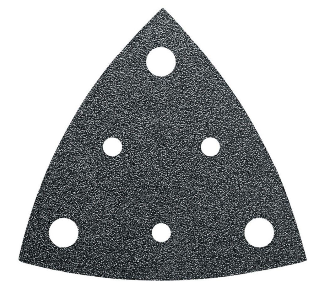 FEIN Perforated Triangular Sandpaper alu oxide grit 220 - 50-Pack