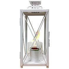 Small Garden Lantern - White