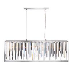 Eurofase Genova Collection, 5-Light Chrome Chandelier