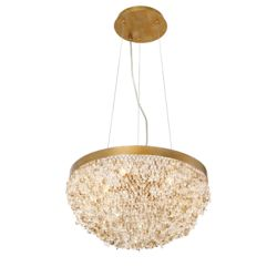 Eurofase Mondo Collection, 5-Light Gold Chandelier
