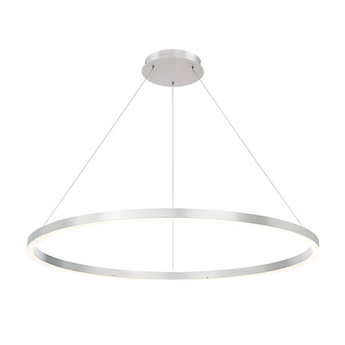 Spunto Collection, Medium LED Silver Chandelier