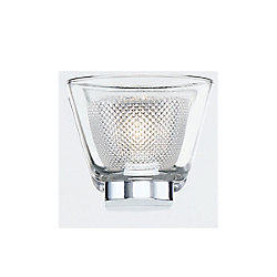 Trent Collection, 1-Light LED Chrome Wall Sconce