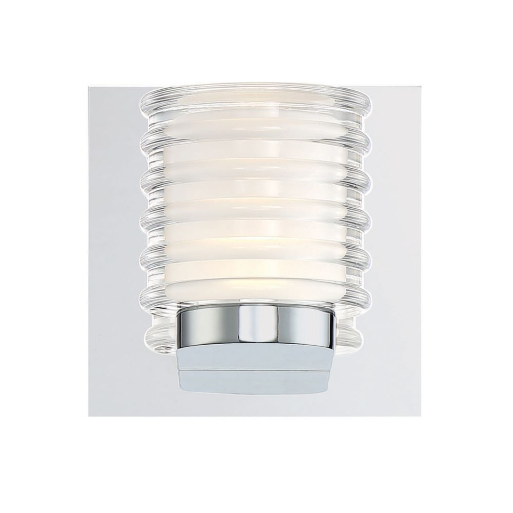 Eurofase Ancona Collection, 1-Light LED Chrome Wall Sconce