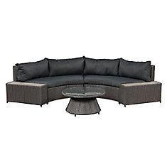 Vale Curved Sofa Set