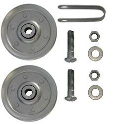 Ideal Security Poulies de 3 po pour porte de garage (Paquet de 2)
