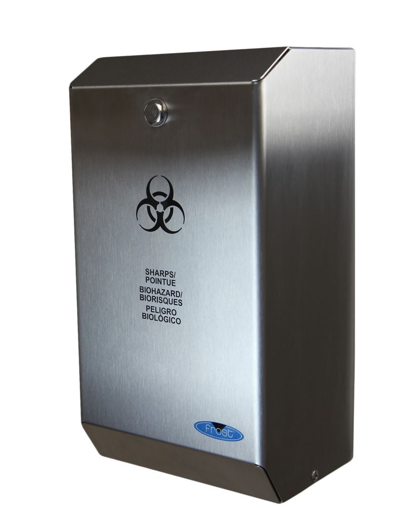 Frost Stainless Steel Biomedical Sharps Disposal
