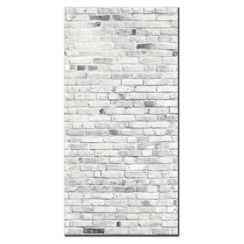 Mur Effet Brique Blanche brique banff