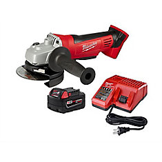 Special Buy M18 XC5.0 Kit W/ Angle Grinder