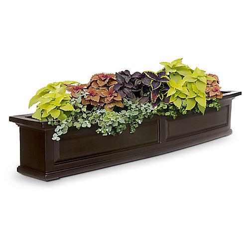 Bac à fleurs Nantucket152cm - Expresso