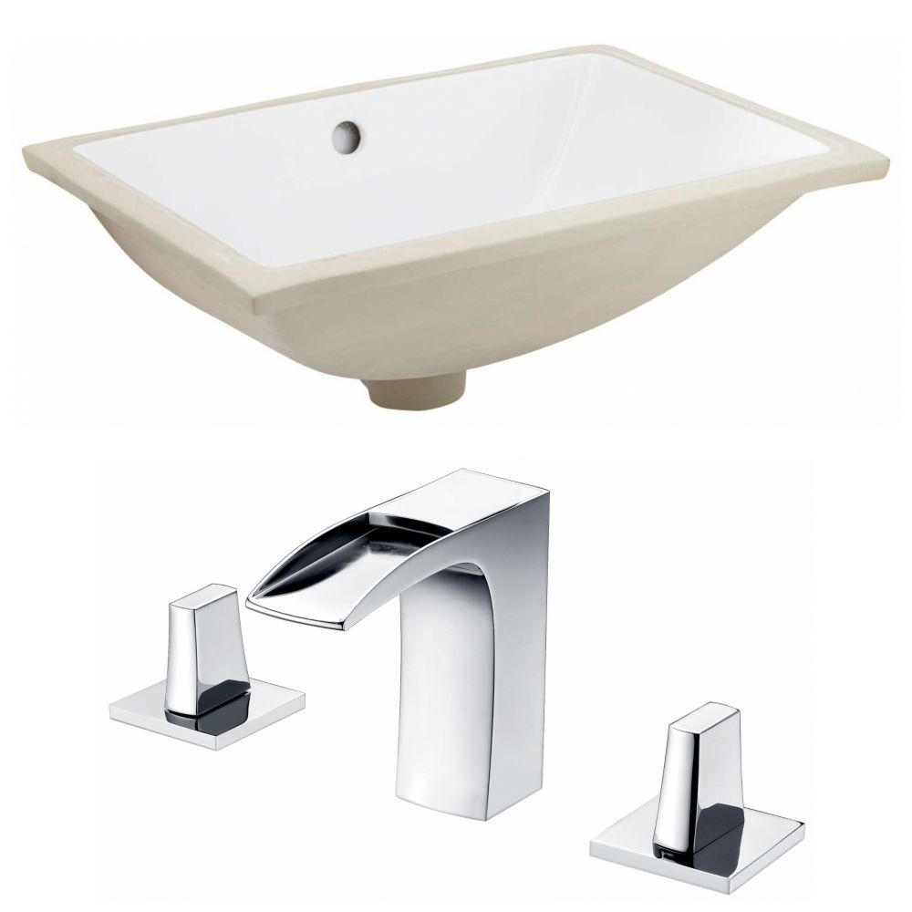 American Imaginations 20.75-inch W Undermount Sink Set - AI-22726