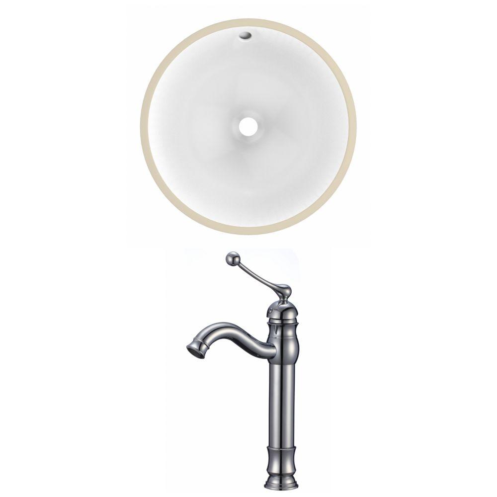 American Imaginations 16.5-inch W Undermount Sink Set