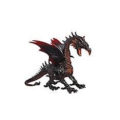 Dragon décoratif d'Halloween aux yeux illuminés à DEL, 19 po