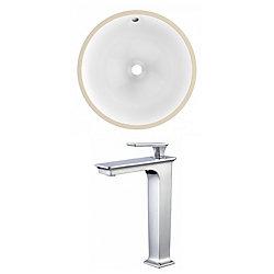 American Imaginations 15.25-inch W Undermount Sink Set