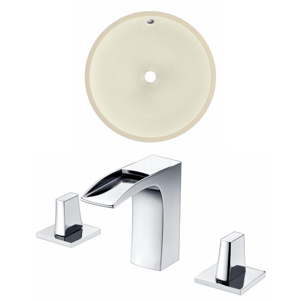 American Imaginations 16-in W Undermount Sink Set