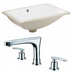 American Imaginations 18.25-inch W Undermount Sink Set - AI-22877