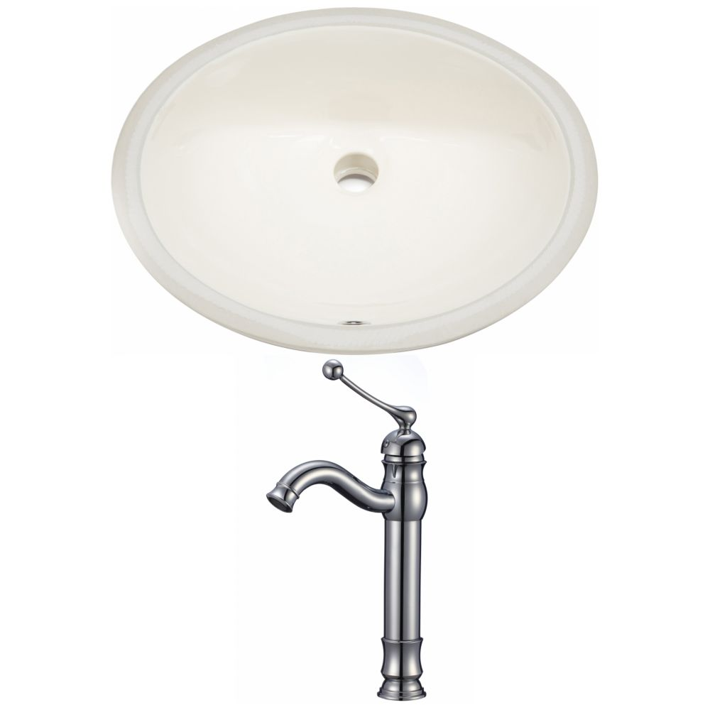 American Imaginations 19.5-inch W Undermount Sink Set - AI-22950